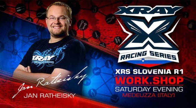 XRAY Workshop XRS Slovenia R1 mit Jan Ratheisky