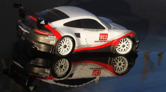 Porsche GT Karosserie von Serpent