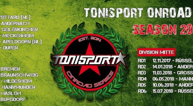 Tonisport Onroad Series 2017/2018 – Division Mitte – Round 1