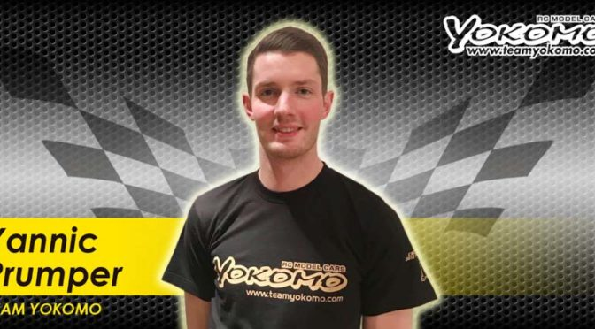 Yannic Prümper zurück im Yokomo Factory Team