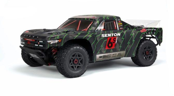 ARRMA 1/8 SENTON 6S BLX 4WD RTR 2018