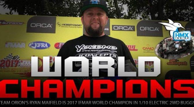 Ryan Maifield schafft das Double – IFMAR-Weltmeister 4WD