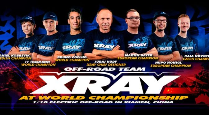 TeamXRAY auf der Weltmeisterschaft in China