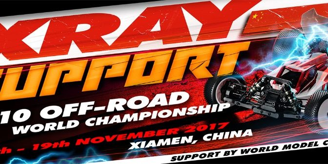 XRAY-Support auf der Weltmeisterschaft in China