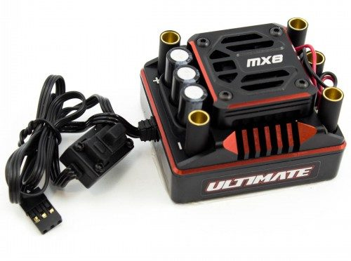 ULTIMATE MX8 RACE BUSHLESS ESC (220A/2-6S)