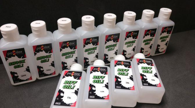 Posilox RC Fluids – Siliconöle