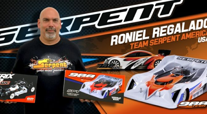 Roniel Regalado wechselt zu Team Serpent
