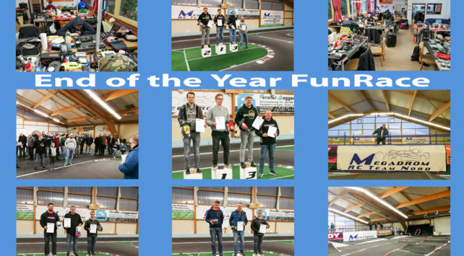 End of the Year FunRace im Megadrom Hasloh