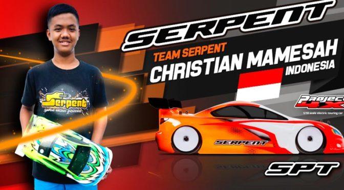 Christian Mamesah wechselt zu Team Serpent