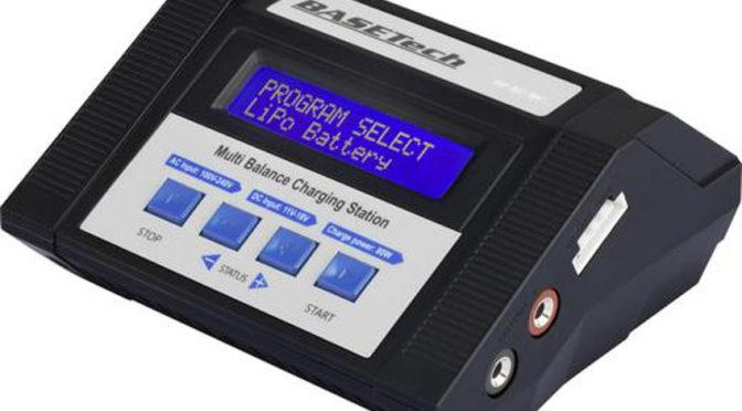 Multifunktional: Das neue Modellbau-Ladegerät von Basetech