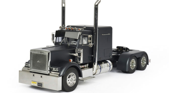 1:14 RC Grand Hauler Matte Black Edition