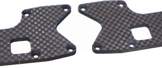 A215 SV 1mm Kohlefasereinsatz – Querlenker hinten