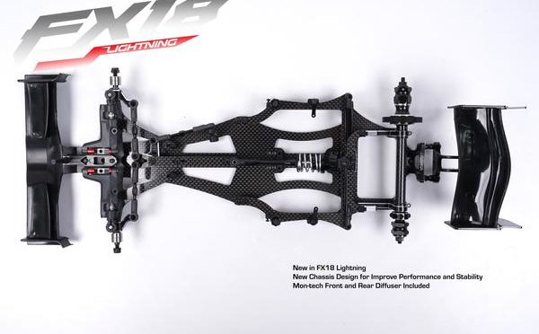 FX18 Lightning 1:10 Formula Car Kit