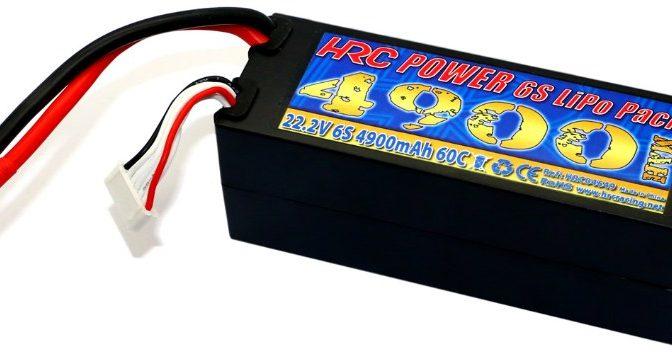 HRC Racing 6S Hard Case für 1/8
