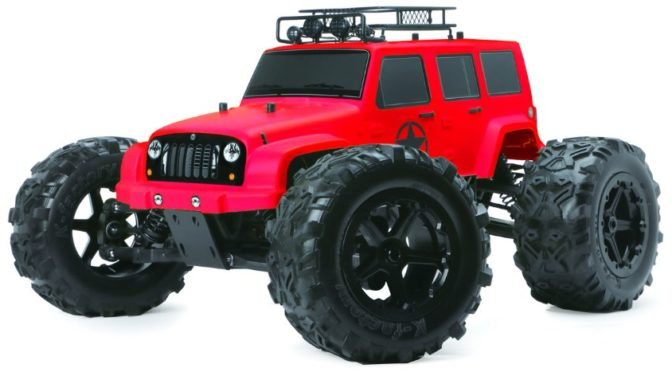 "TM ""J-STAR"" 6S Monster Truck in RED Version"