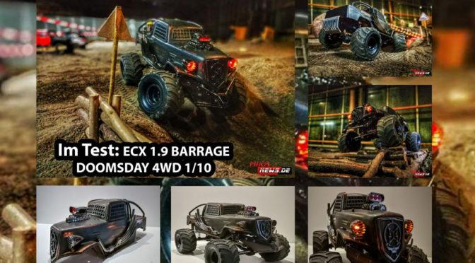 Optisch auffällig – Der ECX 1.9 BARRAGE DOOMSDAY 4WD im Test