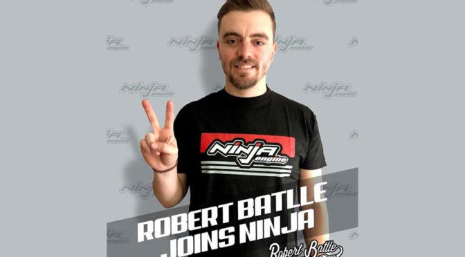 Robert Batlle repräsentiert Ninja-Motoren