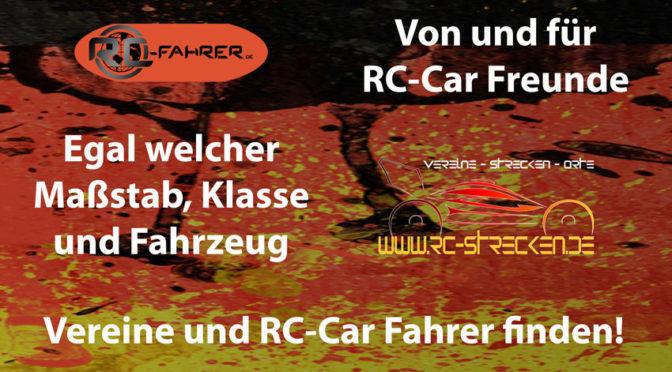 Neues www.rc-strecken.de und www.rc-fahrer.de