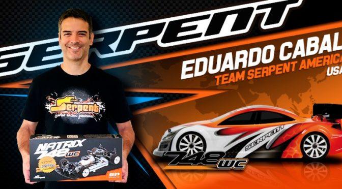 Eduardo Cabal wechselt ins Team Serpent 1/10 GP