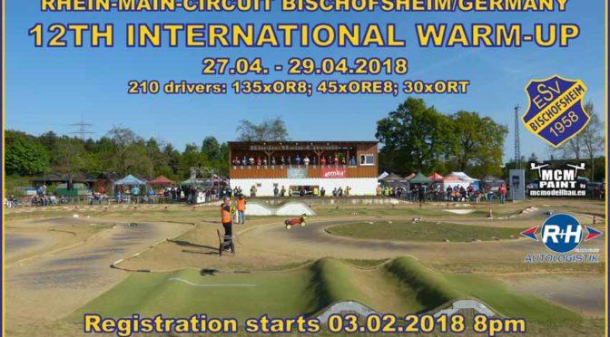 12TH INTERNATIONAL WARM-UP auf dem Rhein-Main-Circuit