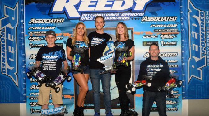 Xray erfolgreich beim REEDY RACE OF CHAMPIONS