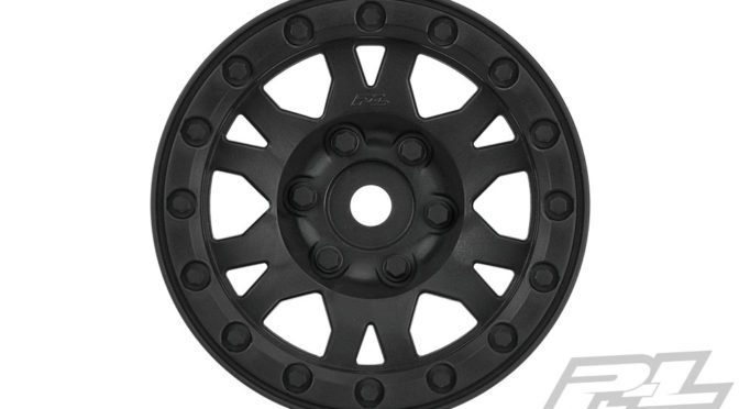Impulse 1.9″ Black Plastic Internal Bead-Loc Wheel