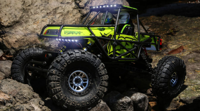 BRING THE FIGHT. SHINE THE LIGHT – Losi® Nightcrawler™ SE RTR