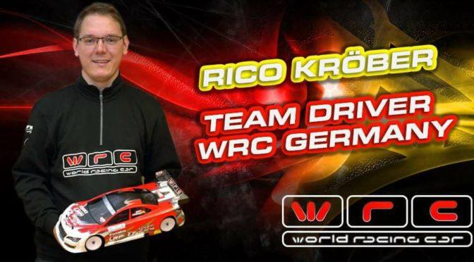 Rico Kröber wechselt zum WRC Racing Team