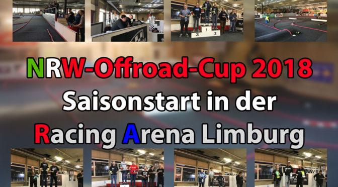 1.Lauf zum NRW-Offroad-Cup 2018 in der Racing Arena Limburg