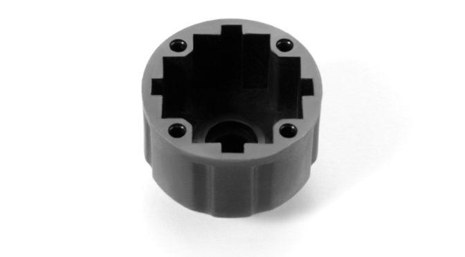 Xray XB8 – Differentialgehäuse – V2 – Graphit