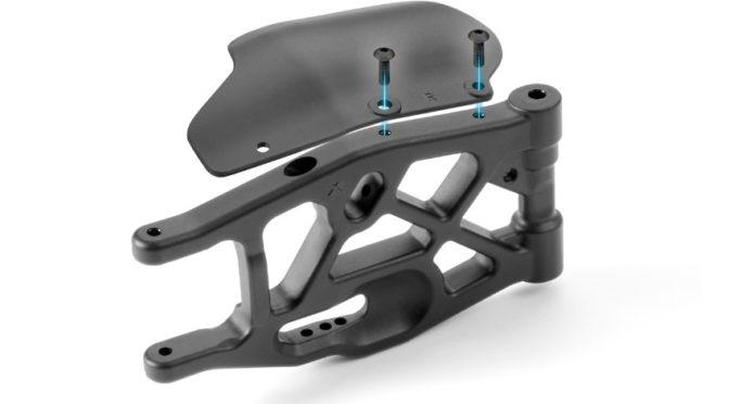 XB8'18 Composite Rear Mud Protector (L+R)