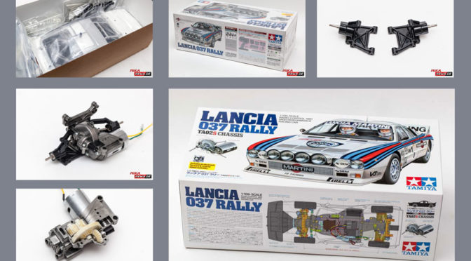 Lancia 037 Rally TA-02SW im Aufbaubericht Teil 1