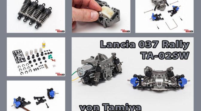 Lancia 037 Rally TA-02SW im Aufbaubericht Teil 2
