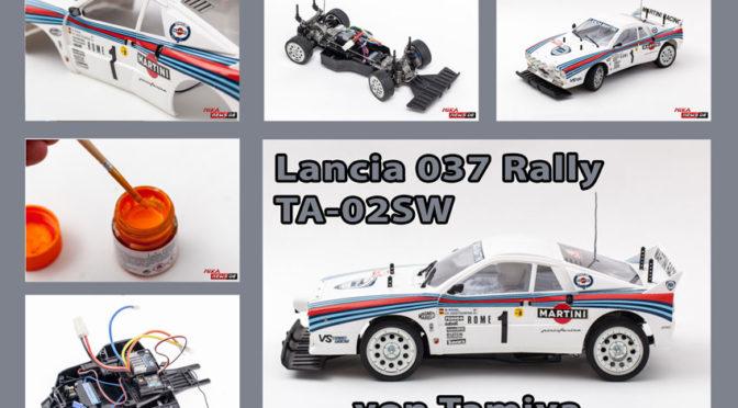 Lancia 037 Rally TA-02SW im Aufbaubericht Teil 4