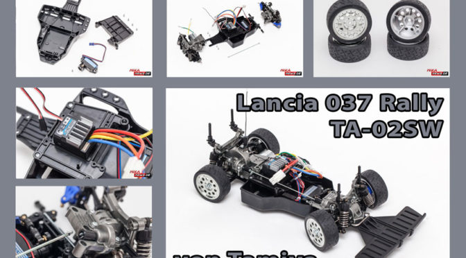 Lancia 037 Rally TA-02SW im Aufbaubericht Teil 3