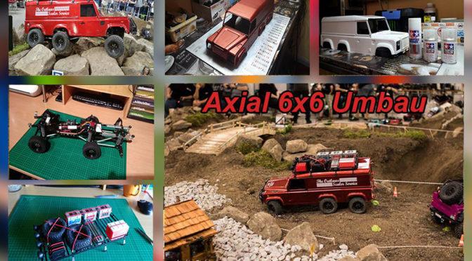 Axial 6×6 Umbau von Thomas Gohmann