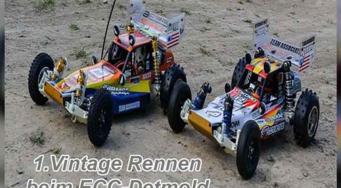 1.Vintage Rennen beim ECC-Detmold