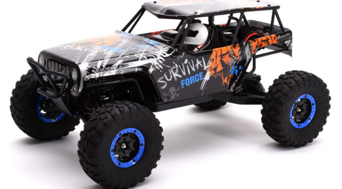 Ripmax Survival 1:10 4WD Rock Crawler RTR 2,4GHz