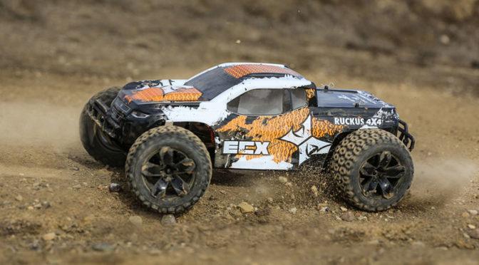 ECX® RUCKUS® MT 4WD V4 RTR – SCHOTTERPISTENFIGHTER