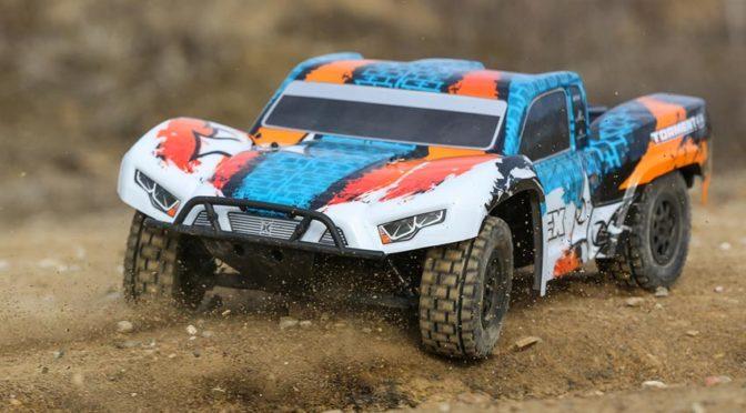 ECX® TORMENT® SCT 4WD V4 RTR – FELDWEGRÜPEL!