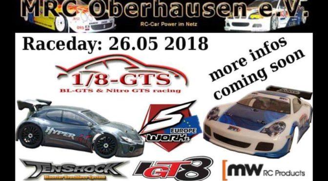 Stop in Oberhausen – Die 1/8 GTS ist zu Gast
