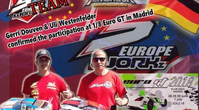 Ab zur ersten EFRA 1/8 GT Europameisterschaft 2018