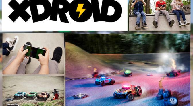 xDroids neues Gaming Konzept bringt Video-Rennspiele in die echte Welt