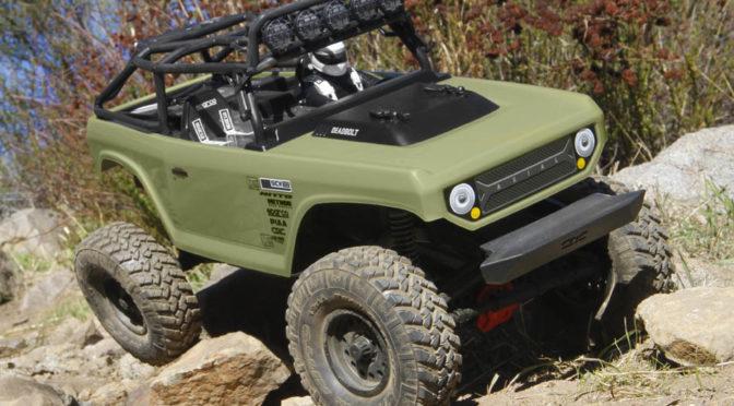 SCX10 II™ Deadbolt™ 1/10 Scale 4WD – RTR