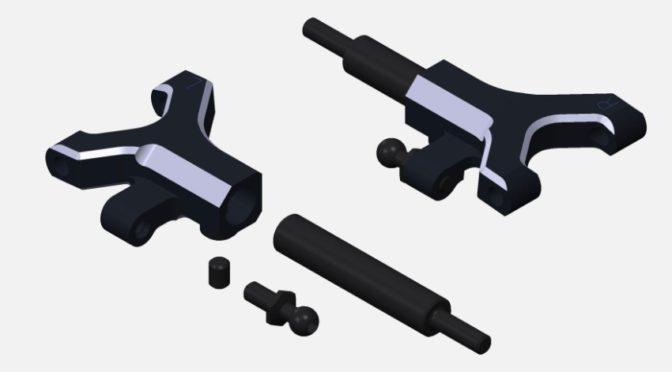 Yokomo – YD-2 / YD-4 – kurzer unterer A-Arm
