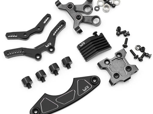 Aluminum Steering und Suspension Upgrade Conversion Kit für den Tamiya M07