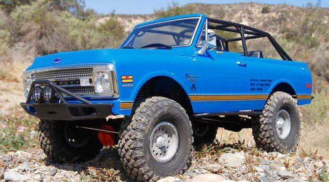 SCX10 II 1969 Chevrolet Blazer 1/10th Scale 4WD – RTR