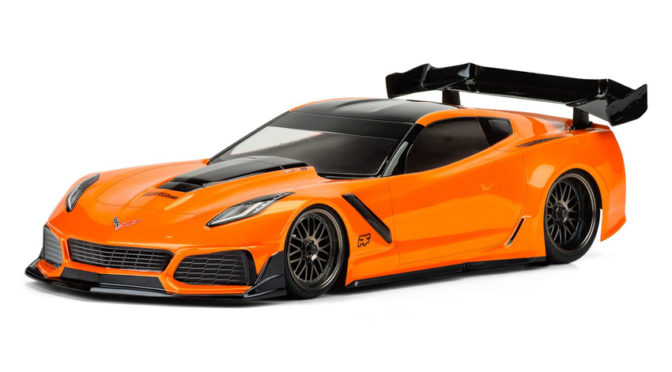 Chevrolet Corvette ZR1 Clear Body – 190mm TC