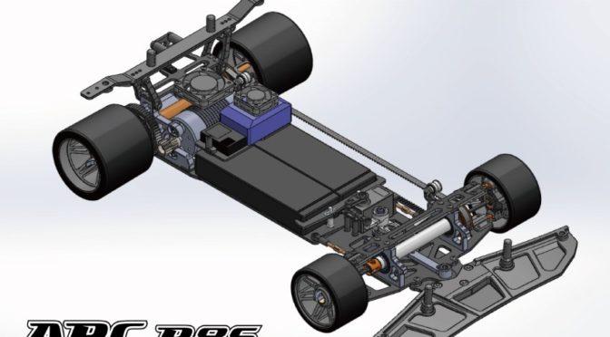 ARC R8S 1/8 Electro Pan Car