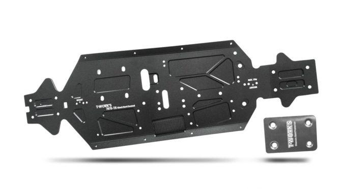 T-Works – Aluminium-Chassis für den Mugen MBX8